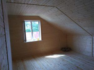 Готовый объект – дом из бруса 10х8 под ключ (фото 8.)