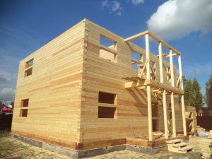Готовый объект – дом из бруса 10х9 без отделки (фото 7.)