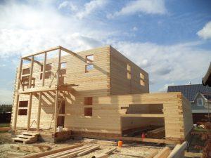 Готовый объект – дом из бруса 10х9 без отделки (фото 8.)