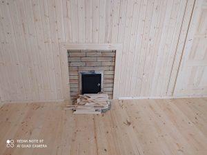Готовый объект – баня из бруса 4х6 под ключ (фото 8.)