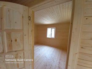 Готовый объект – каркасный дом 6х6 под ключ (фото 10.)