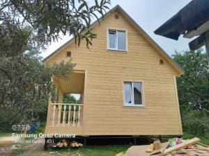Готовый объект – каркасный дом 6х6 под ключ (фото 2.)