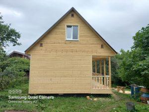 Готовый объект – каркасный дом 6х6 под ключ (фото 4.)