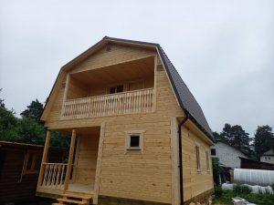 Готовый объект – дом из бруса 6х8 под ключ (фото 2.)